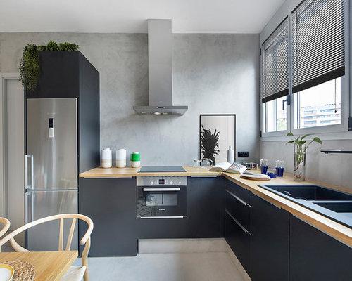 Ideas para cocinas | Fotos de cocinas contemporáneas con puertas de ...