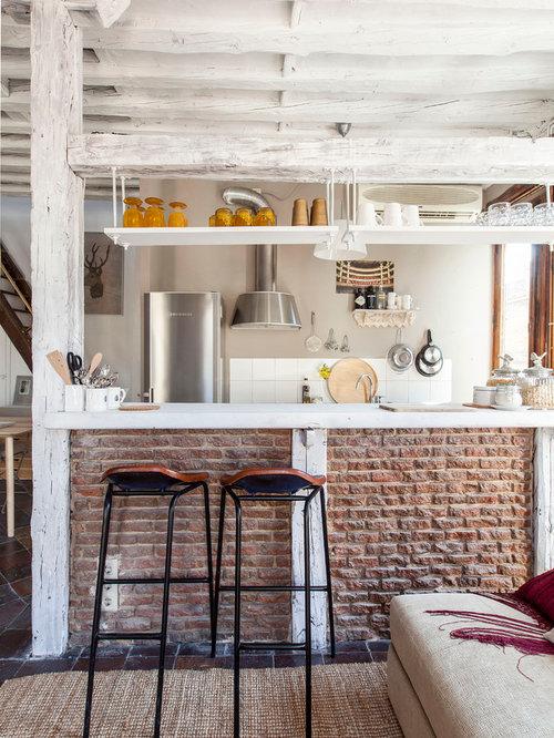 Ideas para cocinas Fotos de cocinas rsticas abiertas