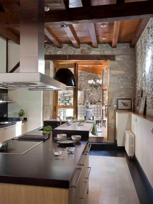 Ideas para cocinas fotos de cocinas r sticas - Cocinas rusticas en blanco ...