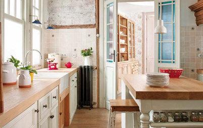 5 cocinas rústicas llenas de encanto