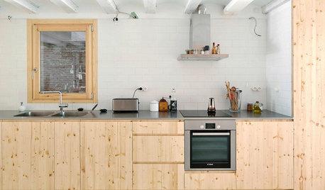 7 geniale idéer til køkkener langs én enkelt væg