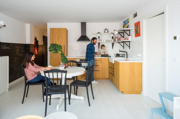 Contemporáneo Cocina by Masfotogenica Interiorismo