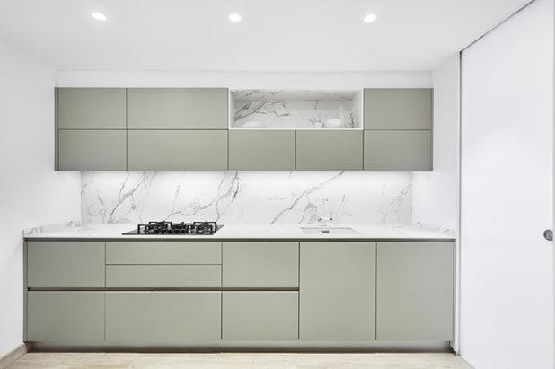 Современный Кухня by Aurea Arquitectos