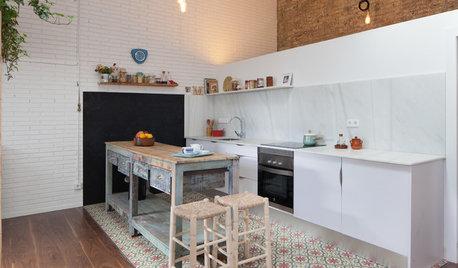 Más vale una imagen...: 7 suelos bonitos para renovar la cocina