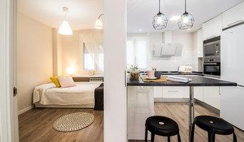 Reforma integral e Interiorismo de apartamento urbano en Santander