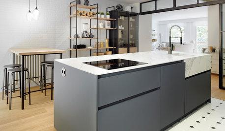 Cocina de la semana: Confortable, bonita y diseñada para trabajar
