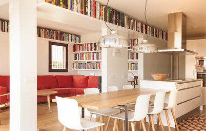 Casas Houzz: Un piso de espacios abiertos que reivindica la terraza