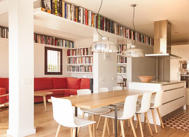 8 ideas para ganar más espacio de almacenaje en el salón