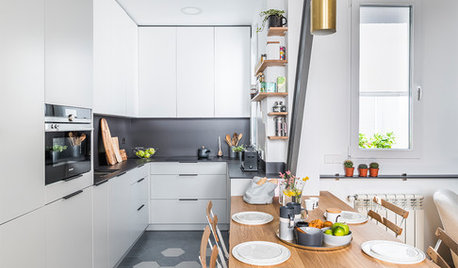 Houzz Tour: Madrid Renovation Makes Room for Entertaining