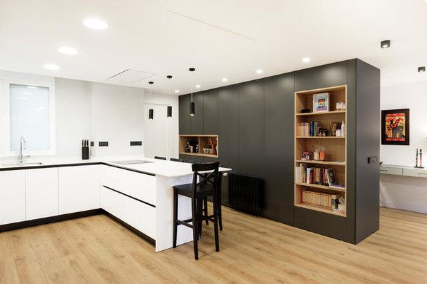 Contemporáneo Cocina by dCMarquitectura