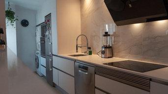 Reforma y mobiliario de cocina