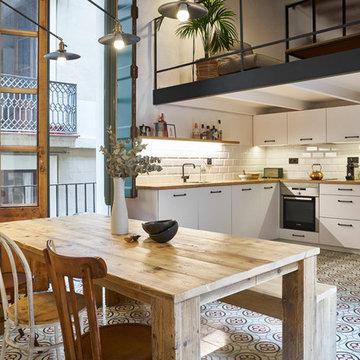 Rehabilitacion cocina en El Born (Barcelona)