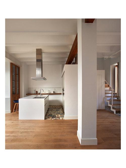 Ideas para cocinas | Fotos de cocinas con salpicadero de azulejos ...