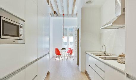 Cocinas modernas: ¿Muebles con tiradores o de apertura a presión?