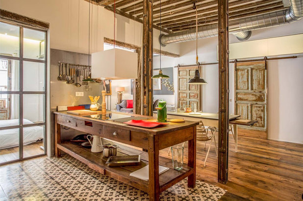 Industrial Cocina by The Sibarist Property & Homes