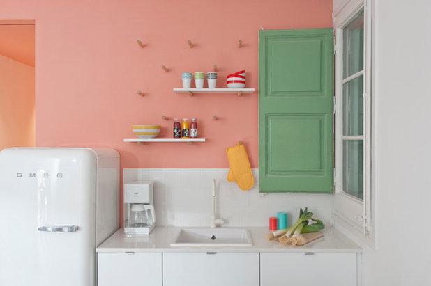 Retro Kühlschrank Big Chill : Innen hightech außen rock n roll küchengeräte im retro stil