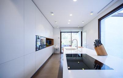 Casas Houzz: 500 m² de lujo y comodidad en Madrid