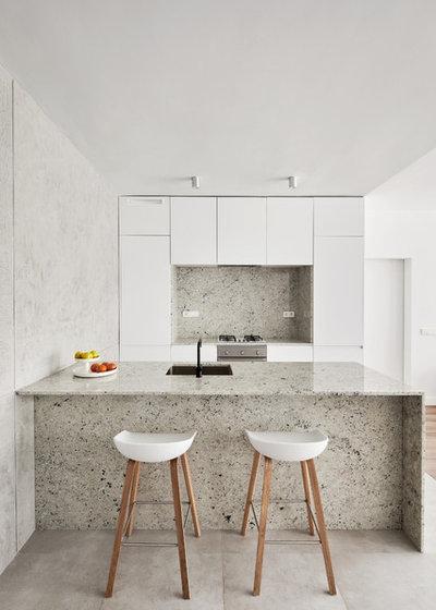 Moderno Cocina by Raúl sánchez Architects