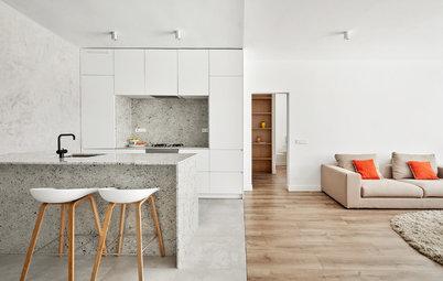 Casas Houzz: Un delicado traje a la medida para un piso de 90 m²
