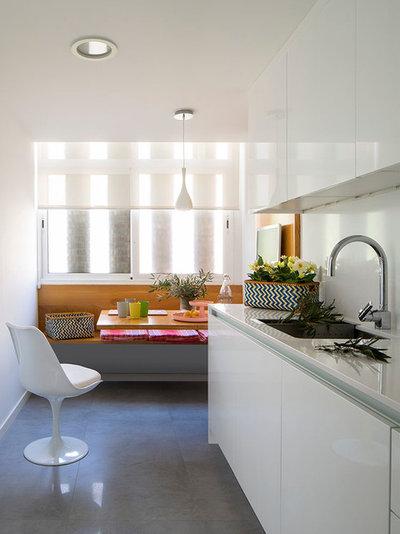 Cocinas peque as consigue un espacio coherente atractivo - Cocinas como disenarlas ...