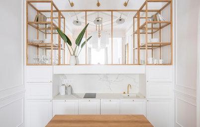 Comment valoriser l'espace entre meubles de cuisine et plafond ?
