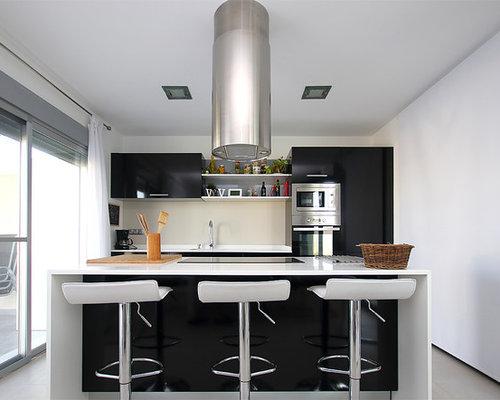 Ideas para cocinas dise os de cocinas modernas de tama o - Cocinas con azulejos beige ...