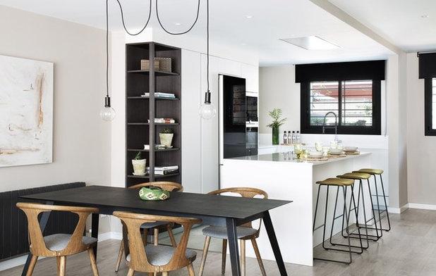 Ventajas de tener una cocina abierta al salón y cómo aprovecharla
