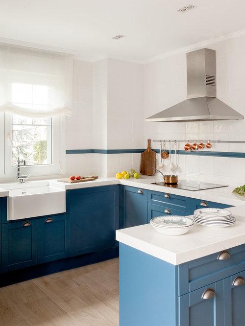 Ideas para cocinas | Fotos de cocinas con armarios estilo shaker