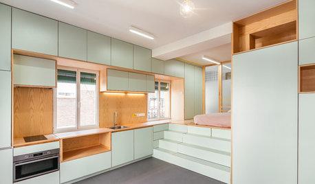 Visite Privée :  Surprises et astuces de rangement dans 33 m²