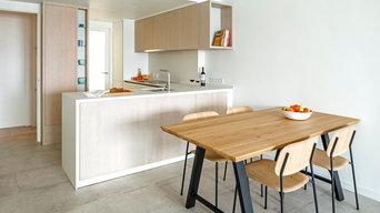 Apartamentos en l'Escala cocinas mediterráneas