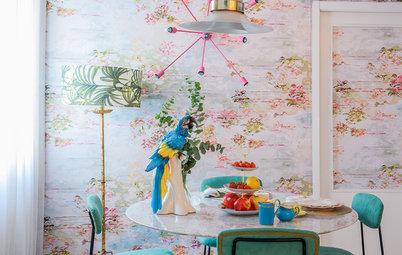 Cocinas modernas: ¿Sabes qué papel pintado para cocina elegir?