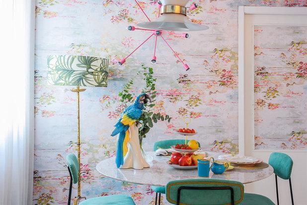 Cocinas modernas sabes qu papel pintado para cocina elegir - Papel pintado para cocinas modernas ...