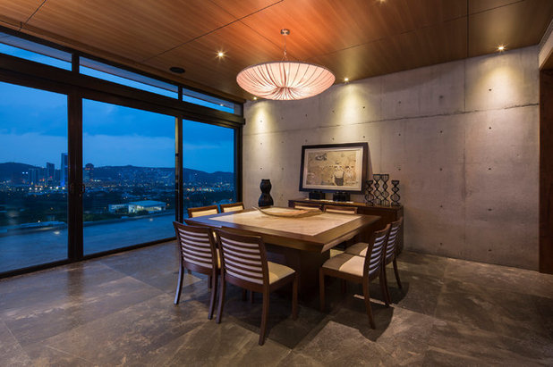 Contemporary Dining Room by rdlp arquitectos