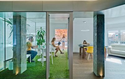 Casas Houzz: Un piso en Alicante con un toque galáctico