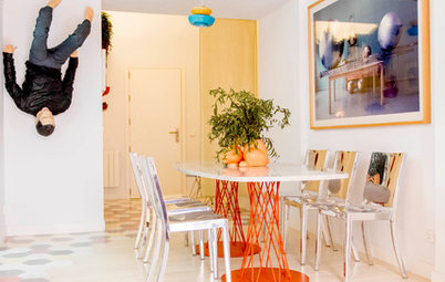 My Houzz: Art and Design Take the Stage in a Madrid Apartment