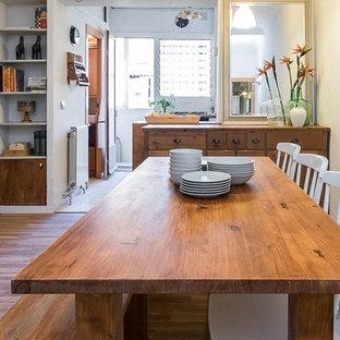 Sala da pranzo aperta verso il soggiorno Barcellona - Foto, Idee ...