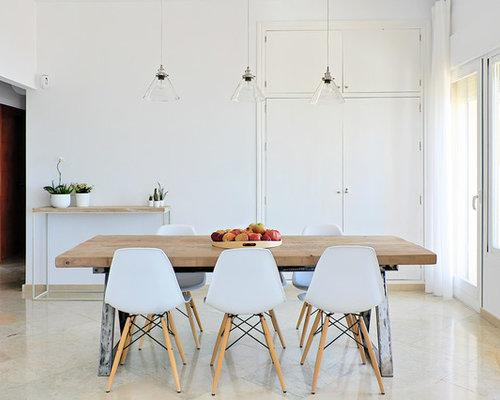 skandinavische esszimmer mit porzellan bodenfliesen ideen. Black Bedroom Furniture Sets. Home Design Ideas