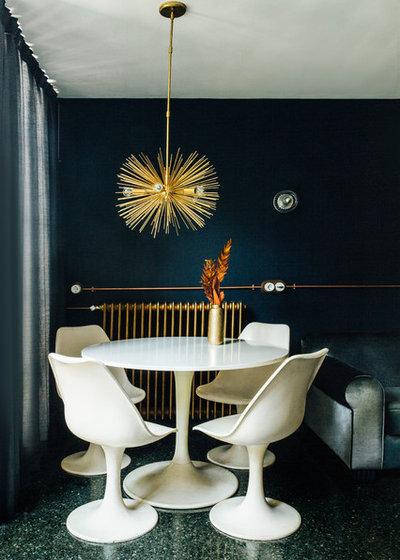 Contemporary Dining Room by Paglialonga Studio