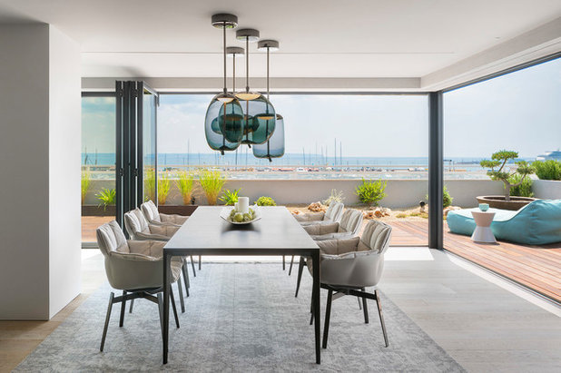 Contemporary Dining Room by Terraza Balear