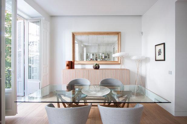 Casas houzz de oscuro despacho de abogados a luminosa for Despacho moderno casa