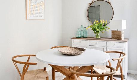 Más vale una imagen...: 11 comedores modernos con mesas redondas
