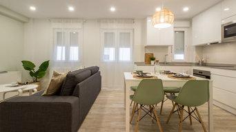 Reforma integral e interiorismo para un piso en alquiler