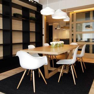 Sube Susaeta Interiorismo y Sube Contract decoración casa con cocina abierta al