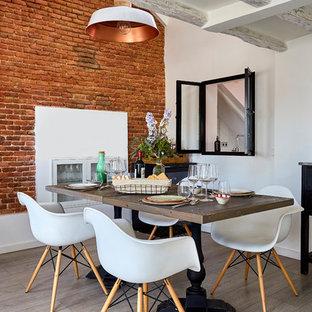 Fotos de comedores | Diseños de comedores con paredes blancas
