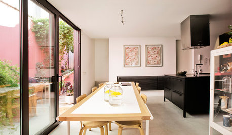 Houzz Tour: A Pretty Pink Terrace Makes This Redesigned Apartment