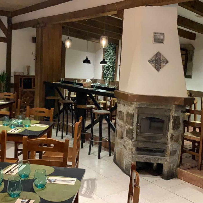 Un restaurante en la montaña