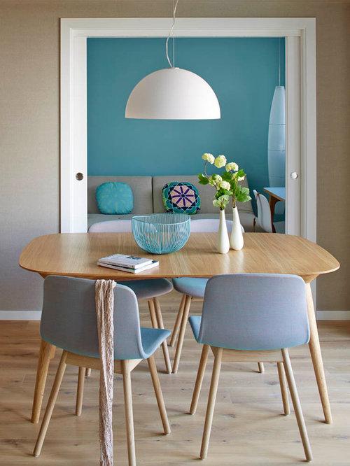 Skandinavische esszimmer mit beigefarbenen wänden   ideen, bilder ...