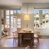 Casas Houzz: El piso de 120 m² con patio de una joven pareja