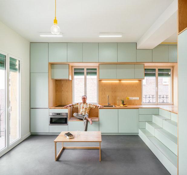 Contemporáneo Comedor by elii - oficina de arquitectura