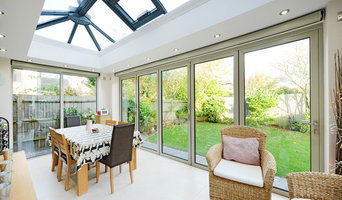 Aluminium Orangery with Bi Folding Doors